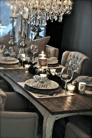 dining room table setting dining table decor lipstick alley