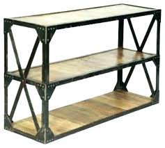 industrial console table with drawers industrial console table outdoor metal console table industrial