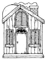 printable spooky house haunted house coloring page free printable coloring pages