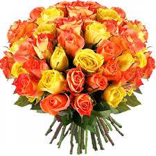 multicolored roses roses puķu kurjers