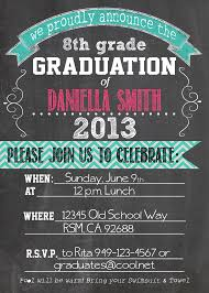 8th grade graduation invitations 8th grade graduation invitations cloveranddot
