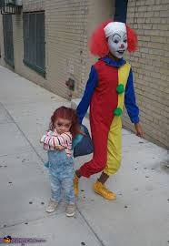 chucky costumes and it the clown costumes