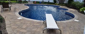Pool Patio Pavers by Exterior Design Interesting Swimming Pool Design With Cozy