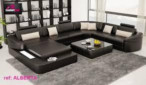 canapé grand angle grand canape d angle canap en cuir confort 10 dans le salon pour