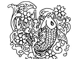 koi fish bring fortune to people coloring pages koi fish bring