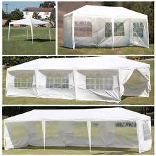 Gazebo With Awning 10x10 Gazebo Awnings Canopies U0026 Tents Ebay