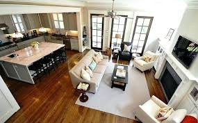 floor plans with large kitchens open floor plan kitchen fitbooster me