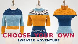 learn yoked sweater design choose your own sweater adventure