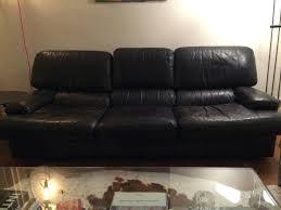 canapé en cuir contemporain roche bobois canape canape cuir noir canapac beau vintage roche bobois salon