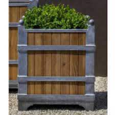extra large wood planters commercial wooden planter boxes t2