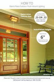 front door security light camera front door outside lights find modern exterior flush mount lighting