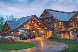 log home plans cabin southland homes farmhouse floor carson