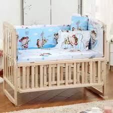 Crib Bedding Monkey 5pcs Baby Crib Bedding Set 100x58cm Newborn Baby Bed Set Crib
