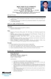 Sample Resume For Ojt Architecture by Ojt Resume Computer Engineering Beautiful Sample Resume Bsba