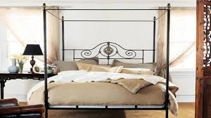 iron canopy bed metal canopy bed frame twin full queen king