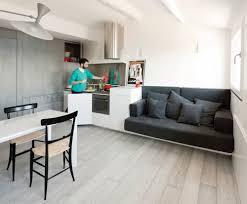 attic kitchen ideas minimalist design attic living room and kitchen combo 7764