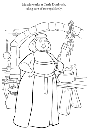 Brave Coloring Pages Best Coloring Pages For Kids Disney Brave Coloring Pages