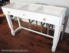 glass top vanity table diy glass top makeup vanity makeup vanities bathroom vanities and