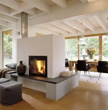 Wohnzimmer Esszimmer Moderne Kamine Als Raumteiler Interesting Wohnzimmer Wohnzimmer