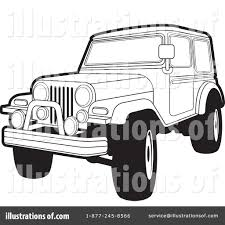 jeep art jeep clipart 227991 illustration by lal perera