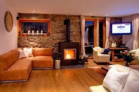 living room red sofa curtain single panel brass tall floor lamp