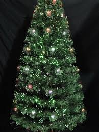180 cm fibre optic tree 510374 festivities