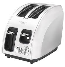 High End Toasters Amazon Com T Fal Avante Icon 2 Slice Toaster Brushed Stainless