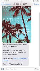 invites you or invite you new app invite right with hobnob u2013 hawaii blog