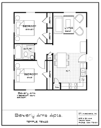 Small Homes Under 1000 Sq Ft 1000 Square Feet House Models Bedroom Inspired Bath Floor Plans