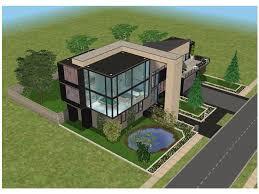 modern house floor plans sims 3 small modern house by ramborocky on deviantart