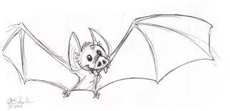 the ol u0027 sketchbook 21 days of halloween doodles day 9 batty