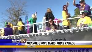 orange mardi gras orange grove mardi gras parade wxxv 25