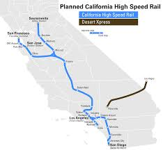 San Jose Airport Terminal Map by Proposed California High Speed Rail Map Which Was Passed Today