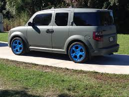 Honda Element Japan Camo Green And Cobalt Blue Plastidip Dipyourcar Addipted