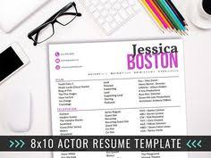 Sample Acting Resumes by Actor Resume Template Acting Resume Ideas Creative Resume Actor