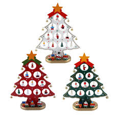 online shop 20x27cm diy cartoon wooden christmas tree ornaments