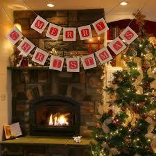 amazon com nuolux merry christmas jute burlap banners christmas