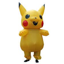 Halloween Costumes Pikachu Shop Men Inflatable Costume Christmas Pokemon Pikachu