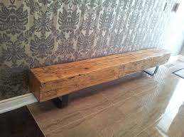 motifs wall narrow entry bench can be decor with wooden cabinet on