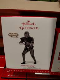 hallmark imperial trooper ornament available the