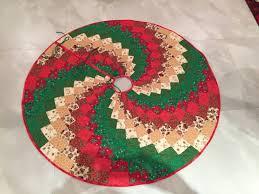 christmas skirt bargello christmas tree skirt workshop muscat quilt guild