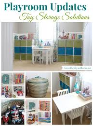 Home Organizing Toy Organization Ideas Another Playroom Update Love Of Family