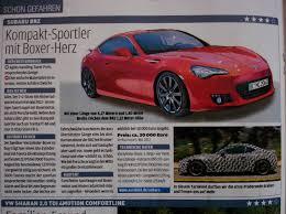 Subaru Top Speed Subaru Brz Specs Leaked To Be Priced At Eur30 000 Autoevolution