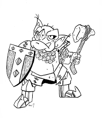 lord of the rings orc coloring pages