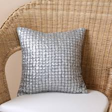 mother of pearl applique decorative pillows contemporary mother of pearl applique decorative pillows