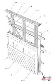 house framing plans small house wall framing components cabin walls load bearing