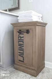 Bathroom Cabinet With Laundry Bin by Best 25 Laundry Hamper Ideas On Pinterest Laundry Basket Diy