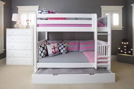 maxtrix high bunk bed with pull out bed