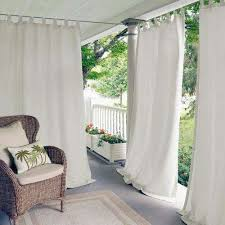 Picture Window Drapes White Polyester Curtains U0026 Drapes Window Treatments The