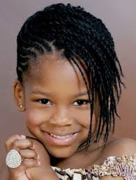 young black american women hair style corn row based cute mix of dreadlocks and cornrows for kids hairstyles all